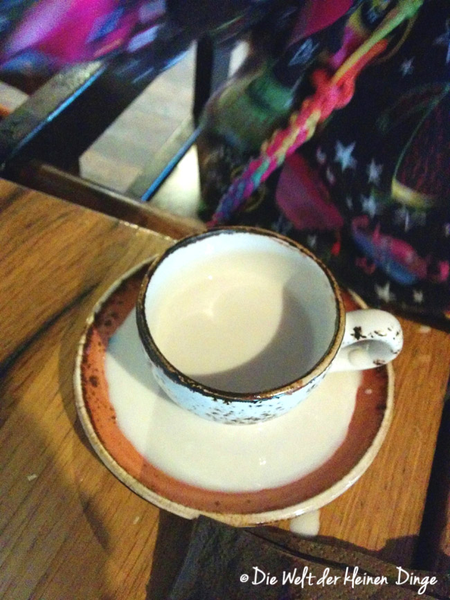 Kindercappuccino, Babycappucino, Überschwemmung