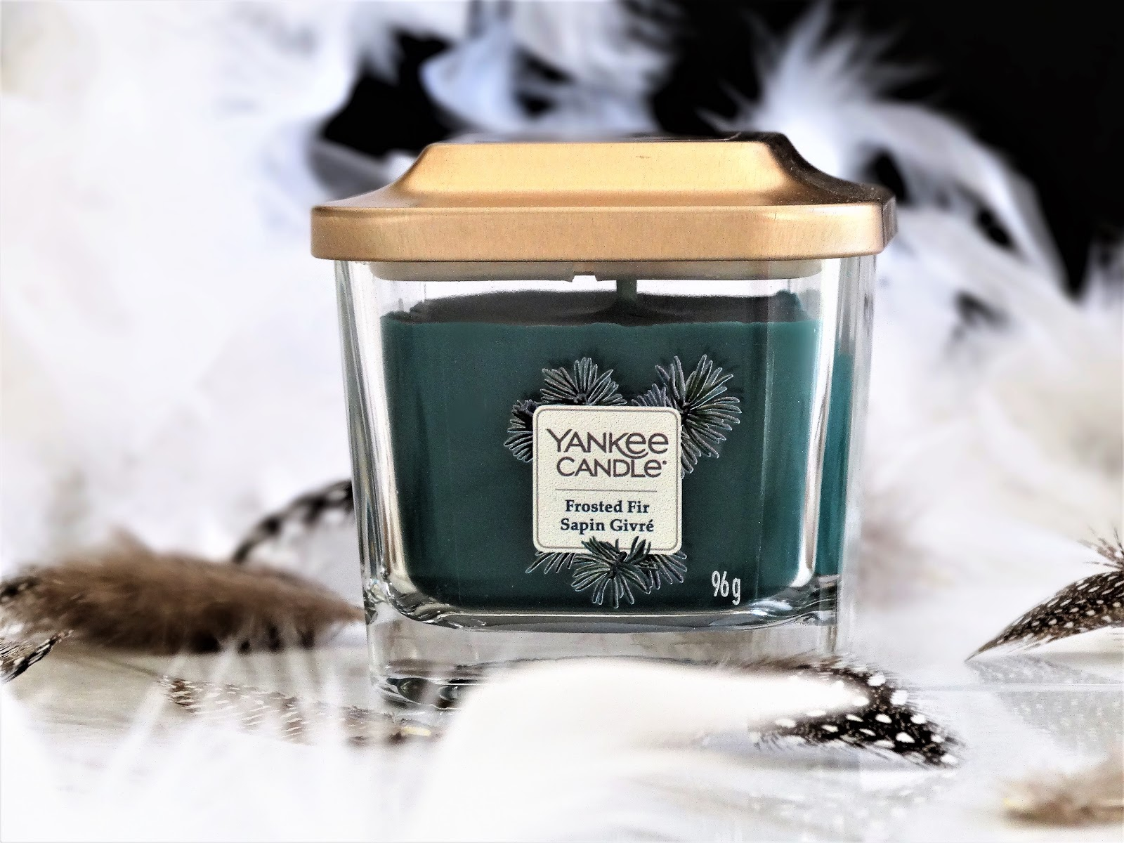 Bougie Senteur Sapin Frosted Fir Yankee Candle Elevation Collection Ambiance Et