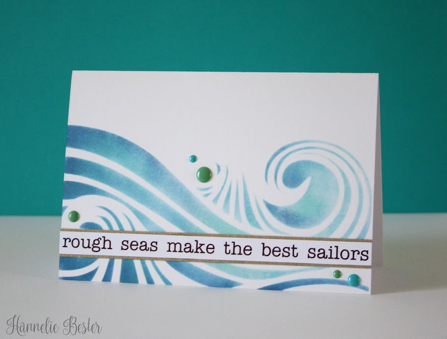 rough seas make the best sailors