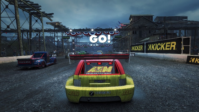 Screenshot from DiRT Showdown