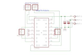 Cara Mengontrol Motor DC l293 Atmega CVAVR