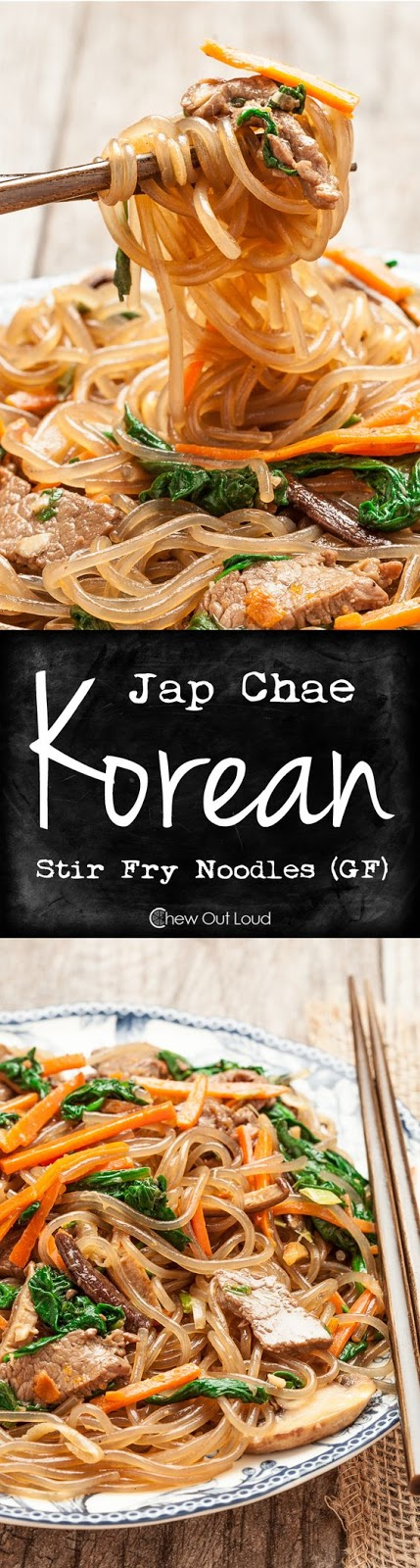 ★★★★☆ 7561 ratings | JAP CHAE (KOREAN STIR FRY NOODLES – GF) #HEALTHYFOOD #EASYRECIPES #DINNER #LAUCH #DELICIOUS #EASY #HOLIDAYS #RECIPE #JAP #CHAE #KOREAN #STIR #FRY #NOODLES