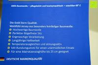 Info: GOLD STERN Baumwolle Jersey-Stretch Spannbettlaken 140-160 x 200 cm, Apfel-Grün