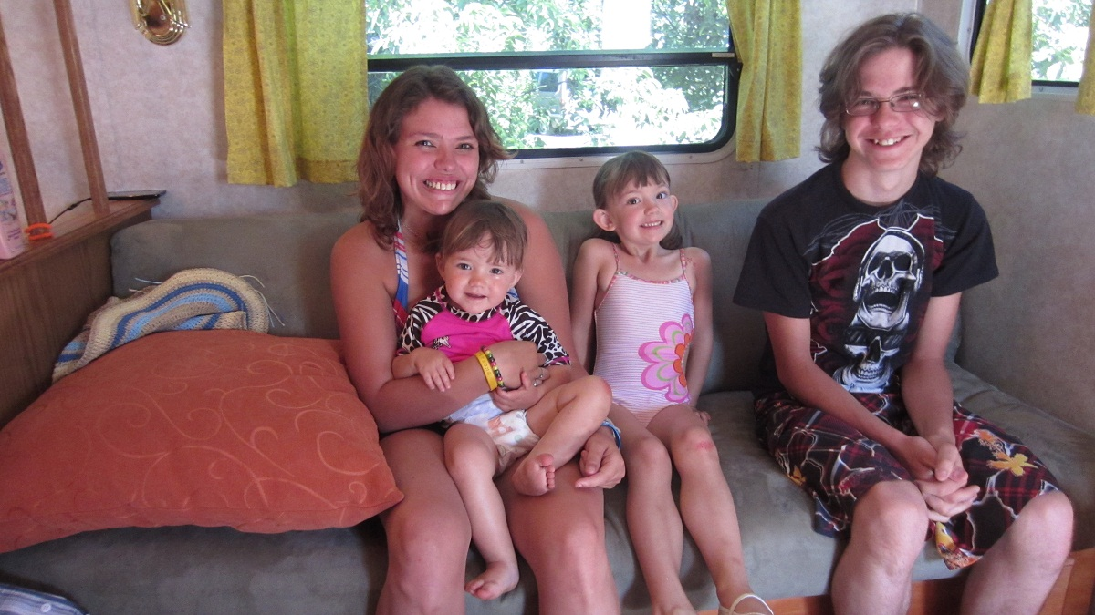 Lifes Short! Go RVing!: Great Falls = Great Family