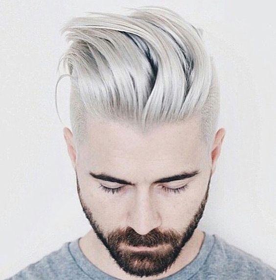 aqu las mejores imgenes de cortes de pelo corto para hombres con barba invierno como fuente de inspiracin