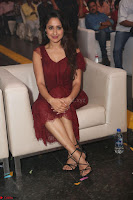 Pragya Jaiswal in Stunnign Deep neck Designer Maroon Dress at Nakshatram music launch ~ CelebesNext Celebrities Galleries 096.JPG