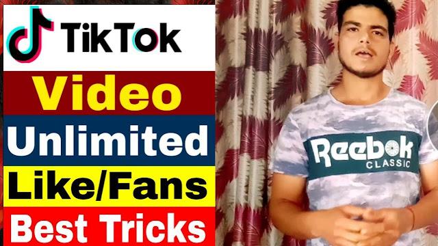 Tiktok pr like fan's video view increase kro