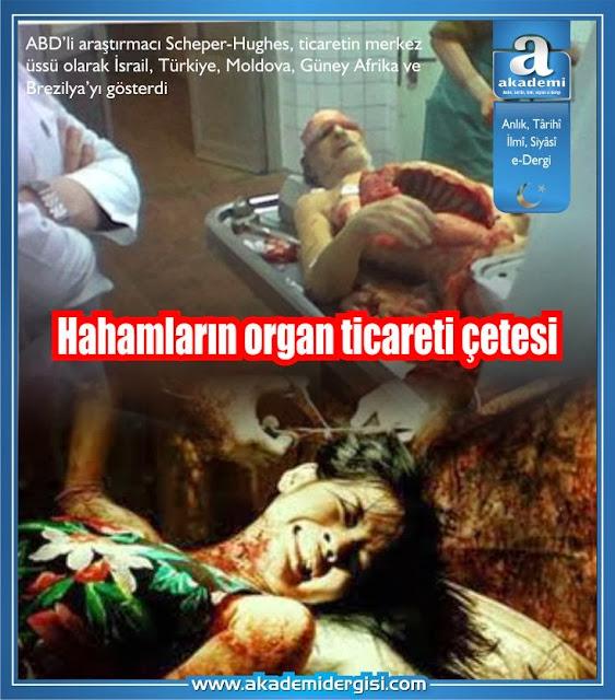 hahamlar, israil, organ nakli \ bağışı, organ ticareti, sanhedrin hahamları, yahudilik, oktar babuna,