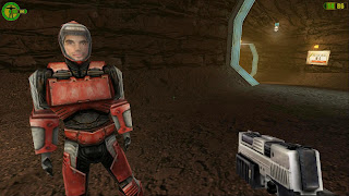 Mars game - Red Faction screenshot miner