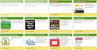 Rahasia PTC Pengumpul Dolar - BUXCAP Earn Free Cash Online...