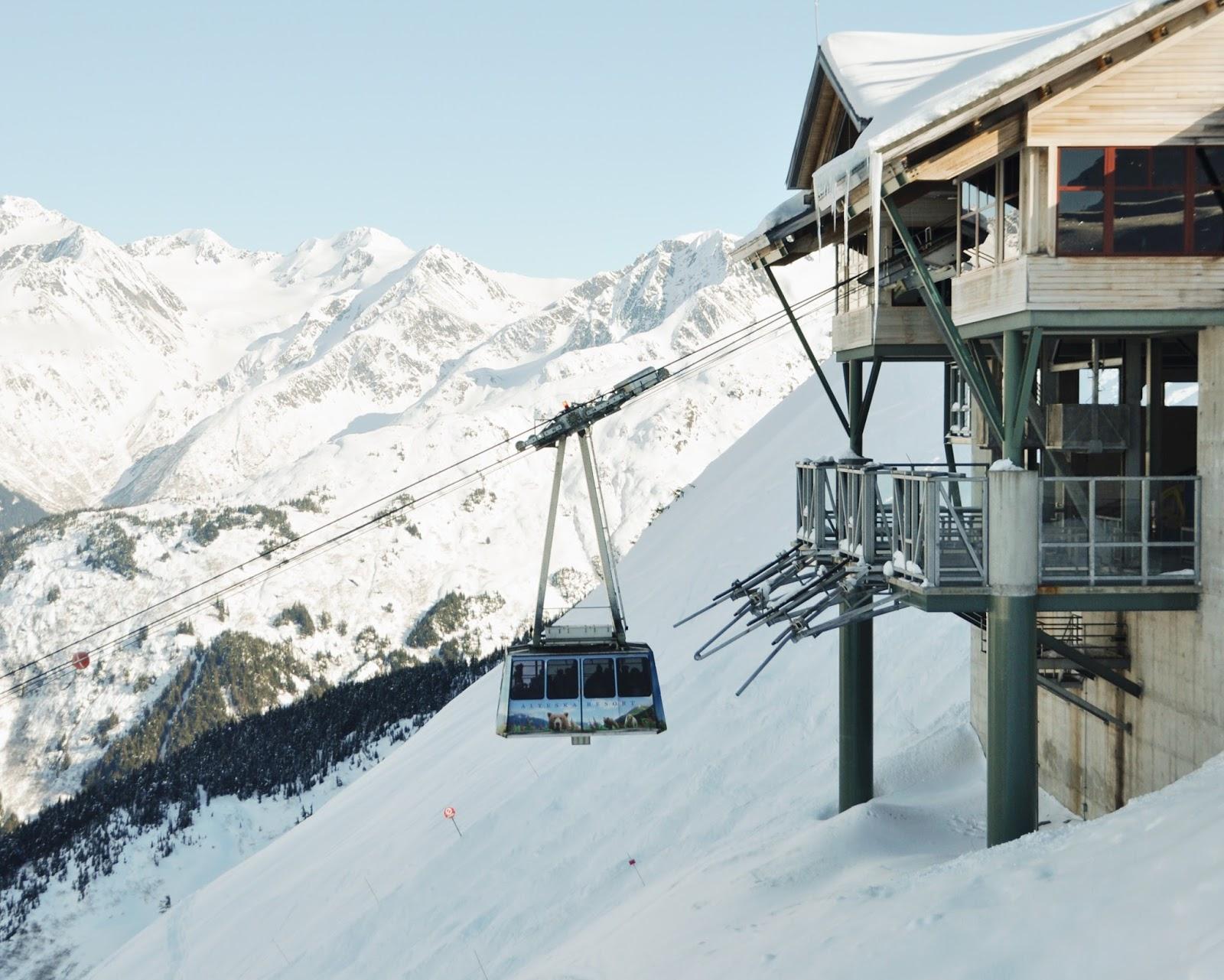 Hotel Alaska tramway