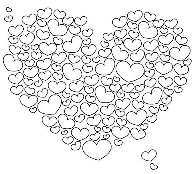 dibujos de amor para colorear e imprimir