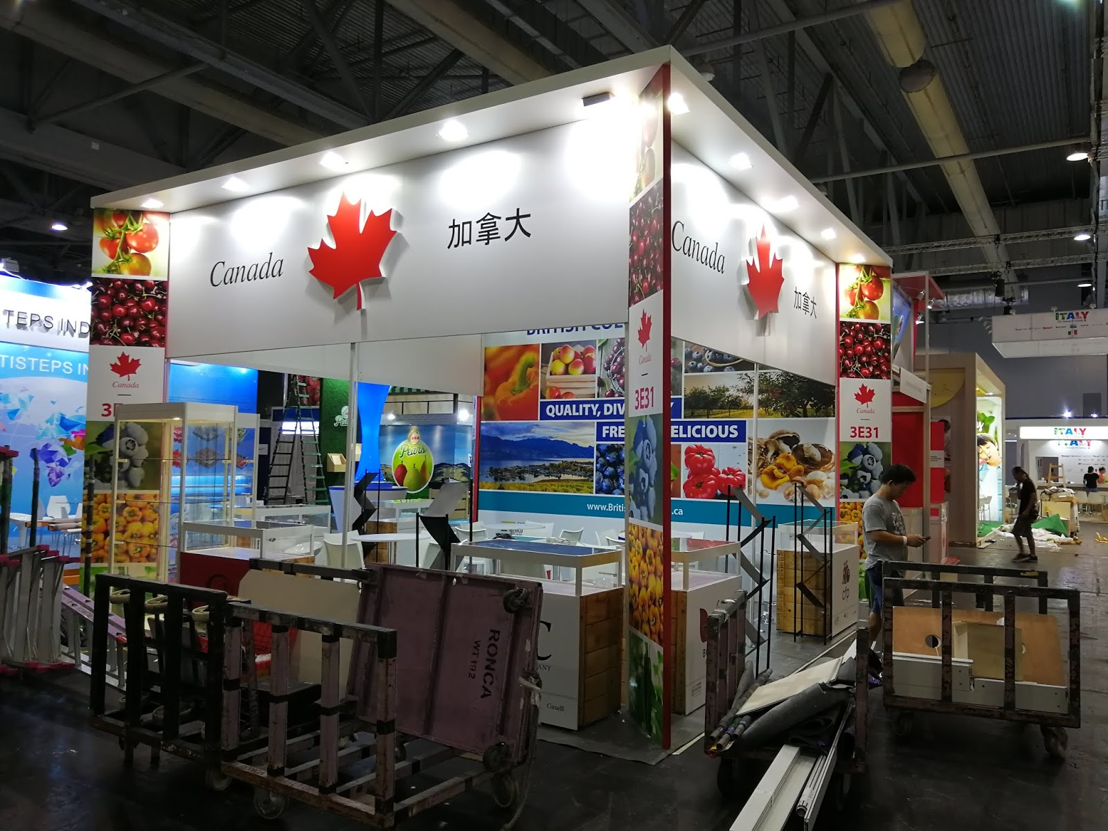 Exhibition Stand Design Hong Kong : Exhibit display booth stand contractor builder in china yoho expo: 2018