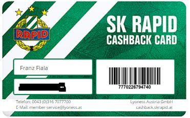 cashback karte Rapid Cashback Karte – Rapid Tagebuch cashback karte