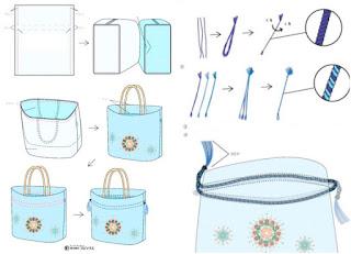bolsa, bolso, japones, accesorios, costura, sewing, bordado