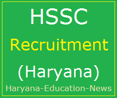 image : HSSC Recruitment 2018 : Advt. No. 11/2017 @ Haryana Education News