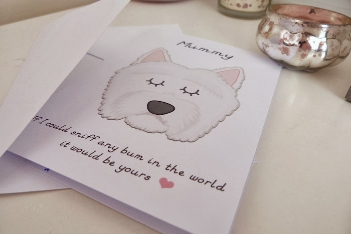 an image of a doggy mothers day card