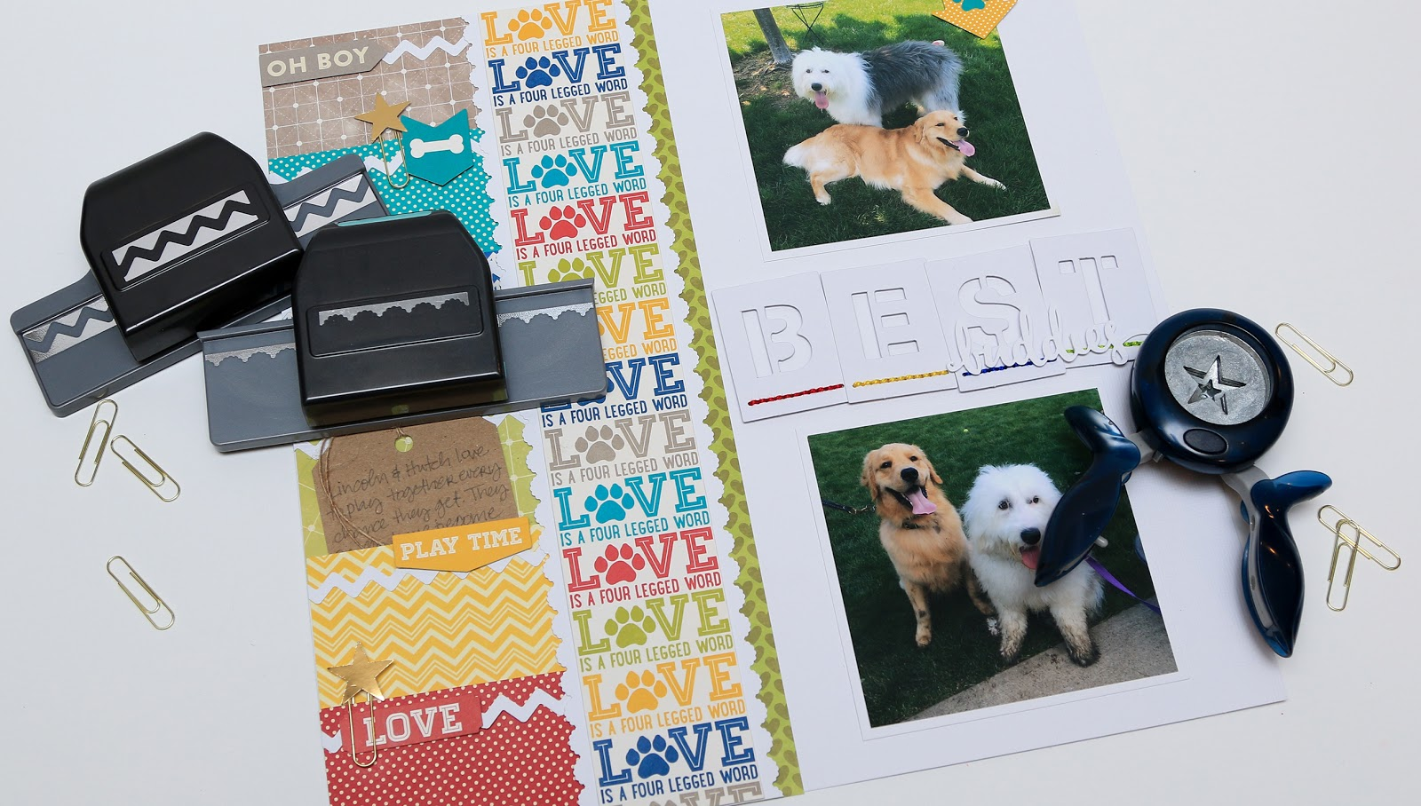 Big Picture Classes Online Scrapbook Class Stretch Your Punches