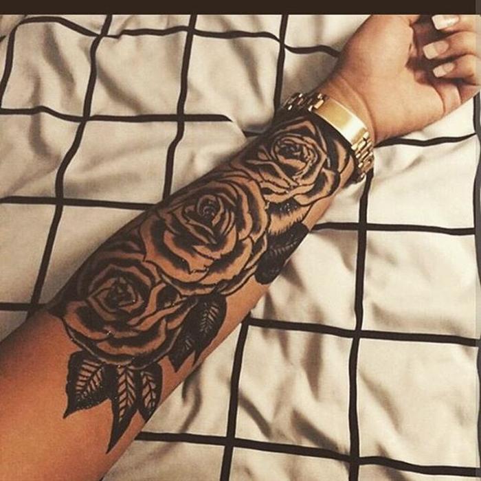 tatuagem-de-rosas-pele-negra