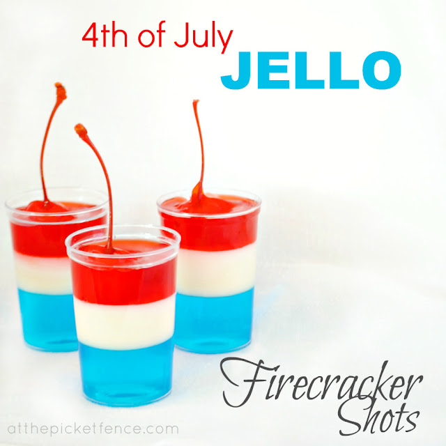 Fourth Of July Jello Shots