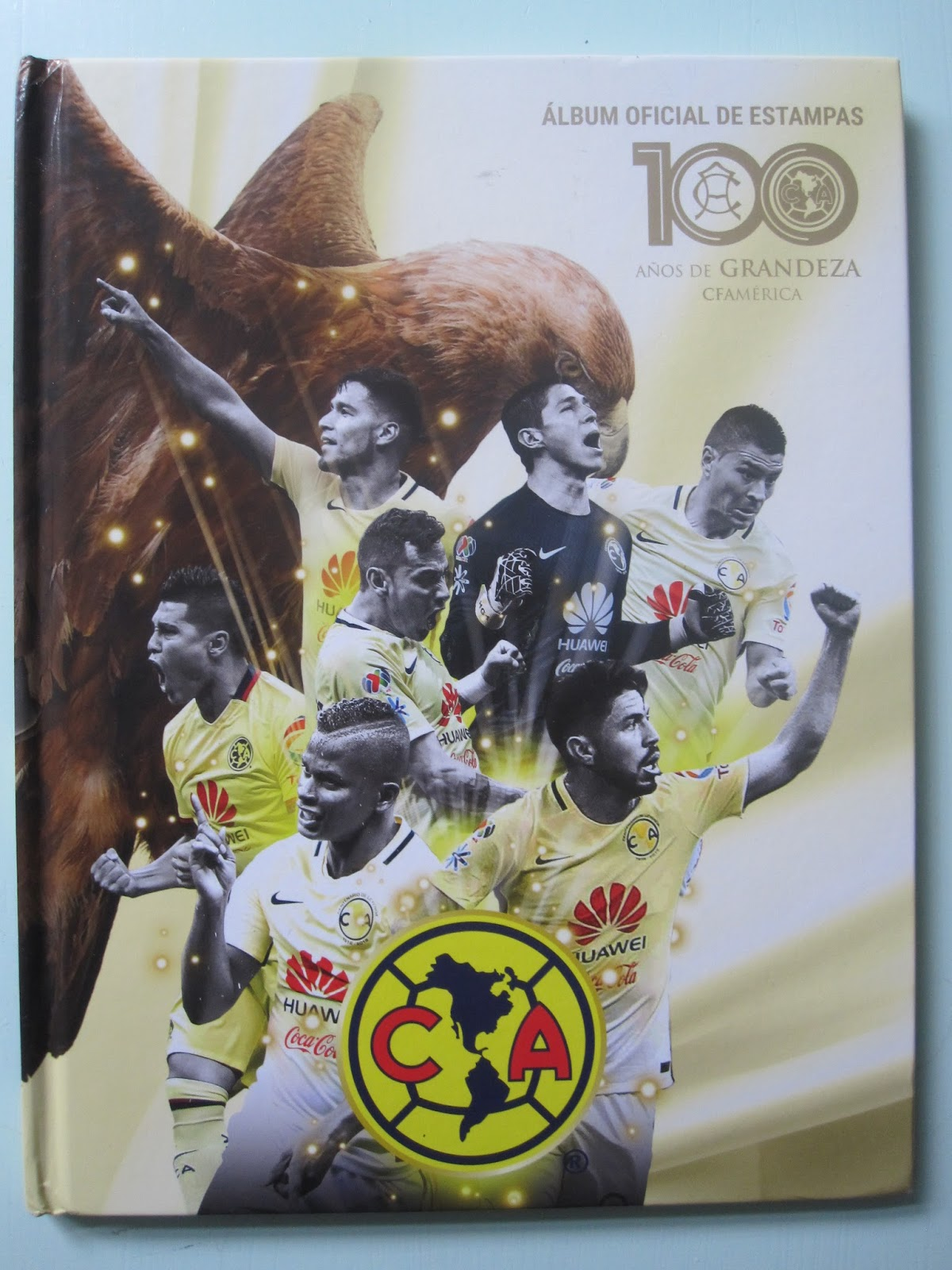 716edddc8 Only Good Stickers  Club America (Mexico) - 100 años de grandeza
