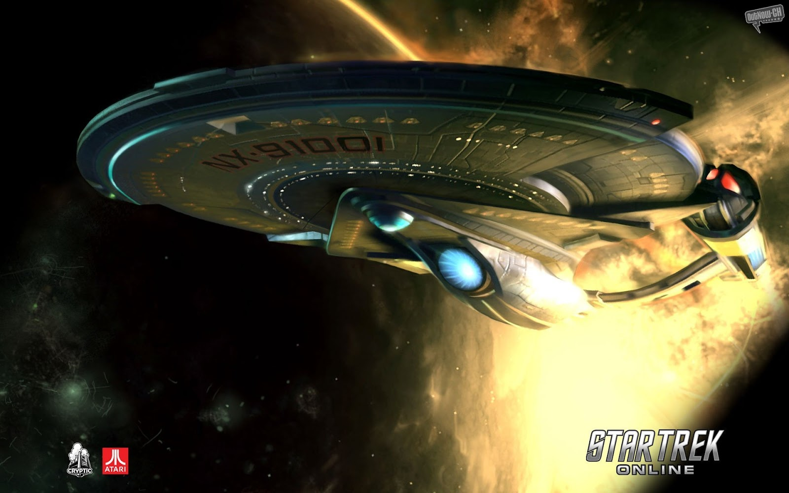 Star Trek Online Gaming Wallpapers And Theme For Windows 7