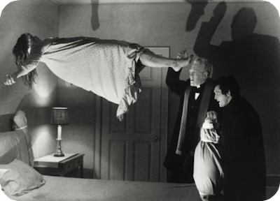 The Exorcist levitation scene