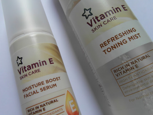 Superdrug Vitamin E Skincare Moisture Boost Facial Serum and Toning Mist