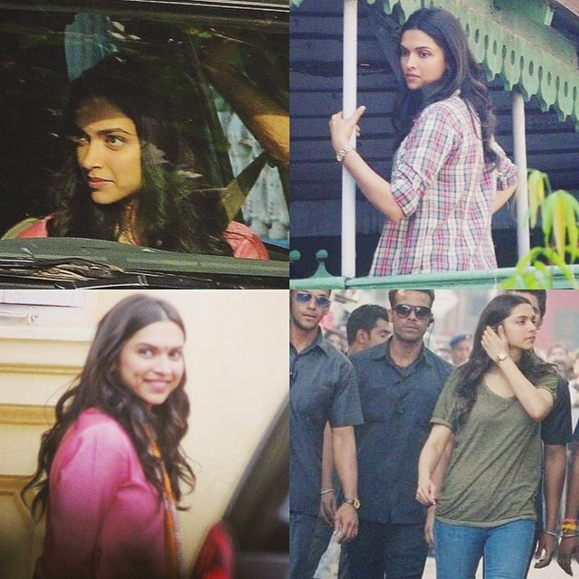 deepika on the sets of piku😍 / thank u for 17k💕🙈 im so happy! deepika padukone , piku ,, Deepika Padukone Piku Movie On Location Pics with Amitabh Bachchan