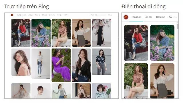 Theme blogspot thư viện ảnh đẹp Photos Gallery