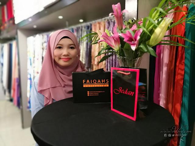 Koleksi Baru Faiqah's Collection Kolaborasi Dengan Jedan Collection