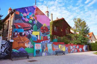 Street Art : A Vitry-sur-Seine, l'art urbain joue les invités vedette