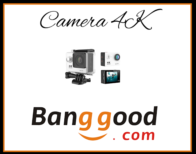 Eken H9 Câmera 4k HD  Wifi HDMI 2 Banggood