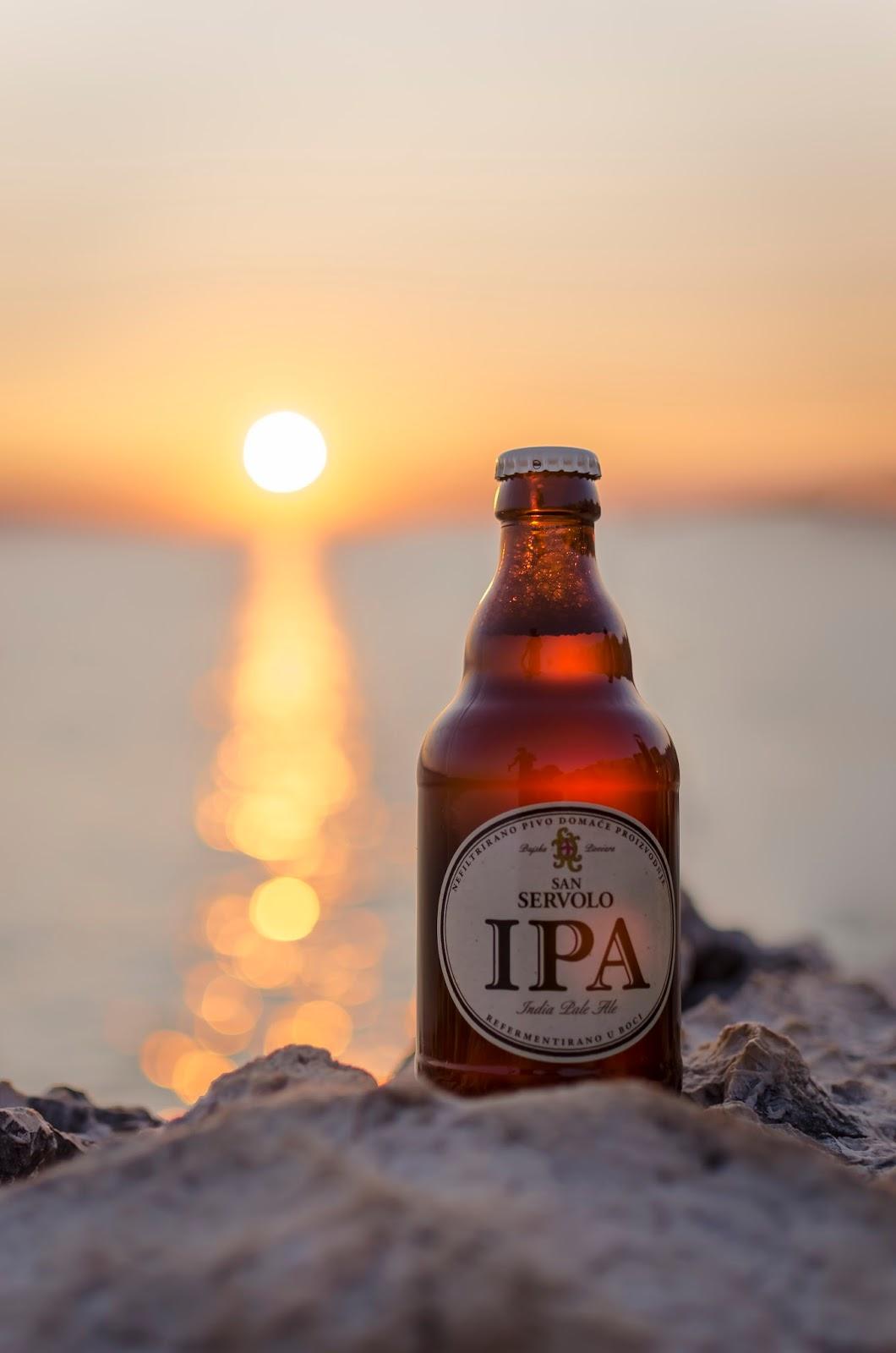 Bière Soleil Mer Croatie