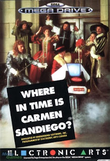 Where in Time is Carmen Sandiego? (BR) [ SMD ]