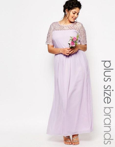 Vestidos para damas de honor violeta