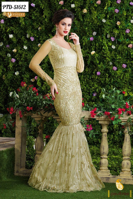 Buy Online Latest Gown Style Designer Dresses Collection