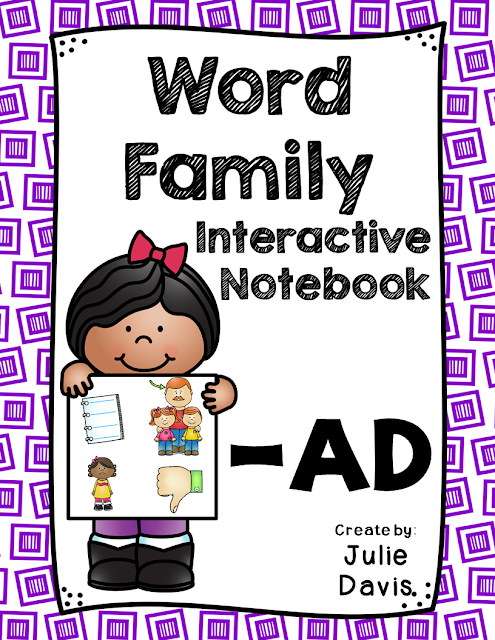 https://www.teacherspayteachers.com/Product/AD-Word-Family-Interactive-Notebook-2480170