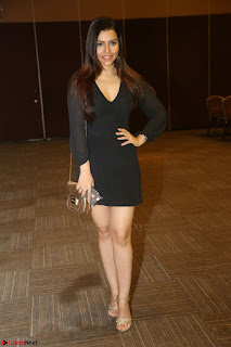Kyra Dutta in black At Rogue Movie Audio Launch ~  059.JPG