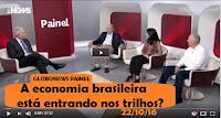 OUTRO OLHAR/ GLOBONEWS PAINEL A economia brasileira está entrando nos trilhos?