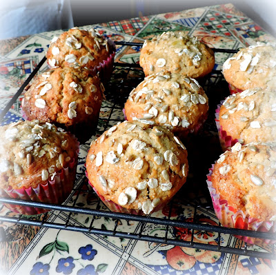 Oat, Apple & Sunflower Seed Muffins