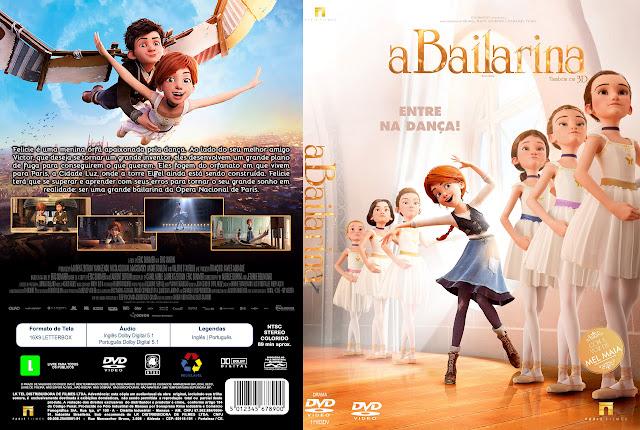 Capa DVD A Bailarina [Exclusiva]