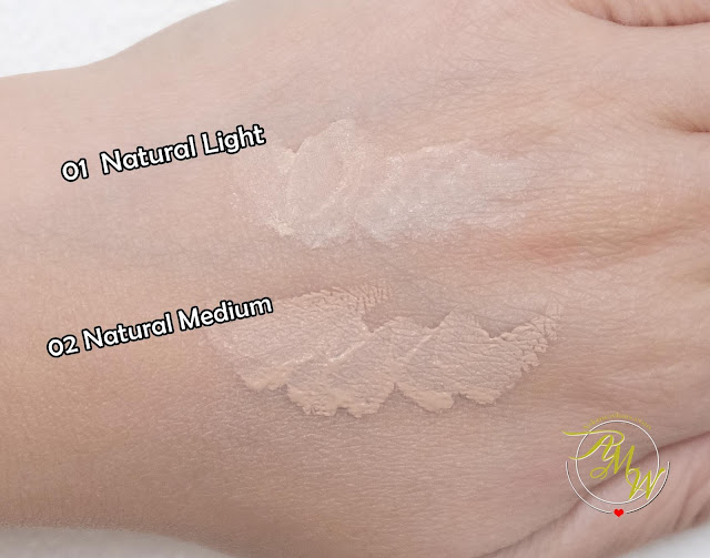 a swatch photo of SilkyGirl Quick Fix Care Concealer Review