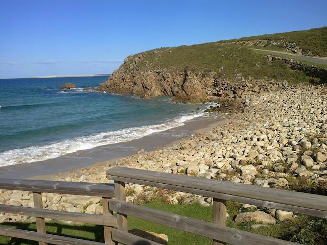 Playa de A Hucha en Arteixo