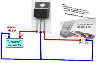 Skema charge handphone