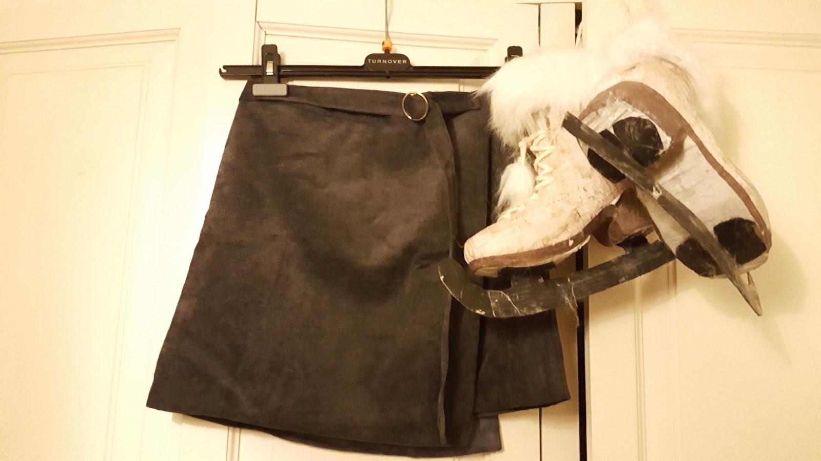 Blogmas: corduroy a-line skirt rosegal