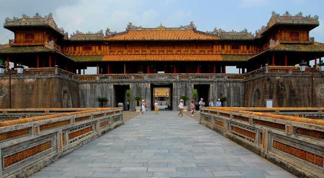 viajes a vietnam - Hue imperial-citadel