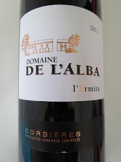 Domaine de l'Alba l'Ermite 2013 - AC Corbières, Midi, France (88 pts)