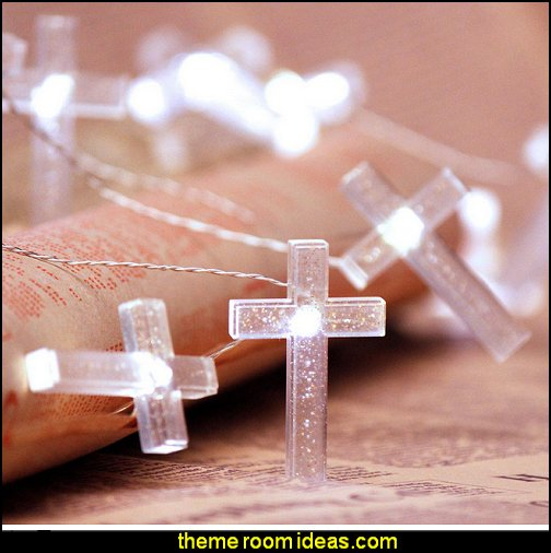 Crystal Cross string lights  Jesus for kids - Bible Stories wall murals - Christian Bible Verse wall decal stickers - Christian home decor - bible verse wall art -  inspirational bedding - Christian bedding - Christian kids toys - Lion and Lamb toddler beds -  bible stories for kids - Christening Baptism Gifts - Psalm bedding - Scripture throw pillows - bible verse throw pillows -  Vacation Bible School Decorations