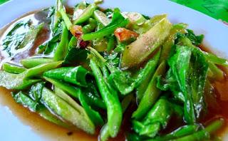 Resep Masakan Sehat dan Praktis Tumis Kailan Bawang Putih